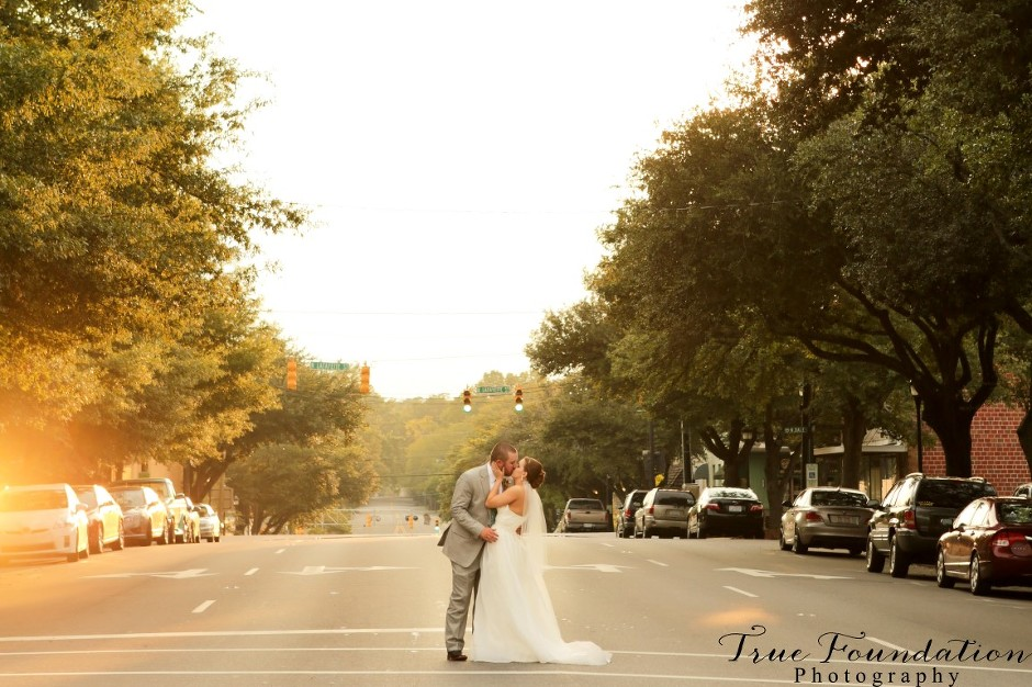 Downtown Uptown Shelby, NC Wedding Photography